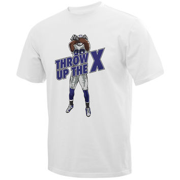 Throw Up The X Custom T-Shirt