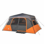 Tent 8-Person 2 Room Instant Cabin Camping Hunting Fishing Shelter Family Kids