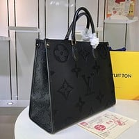 LV Louis Vuitton Women Leather Monogram Tote Handbag Shoulder Bag Shopping Bag Messenger Bags Wallet Purses 2020 New Fashion Bag