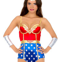 Wonder Woman Bodysuit - Spirithalloween.com