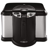 Oster CKSTDFZM70 4-Liter Cool Touch Deep Fryer, Black and Stainless Steel:Amazon:Kitchen & Dining