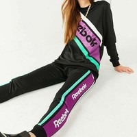 LMFONN Reebok Black Striped Sweatpant