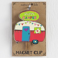 Happy  Camper  Magnet  Clip    From  Natural  Life