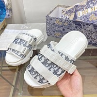 Dior CD new style sandals fashion ladies shoes platform slippers