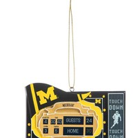 Michigan Wolverines Scoreboard Ornament