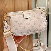 Louis Vuitton LV Hot Sale Women Shopping Bag Leather Crossbody Satchel Shoulder Bag
