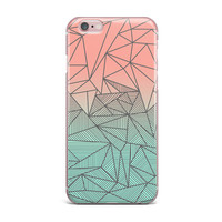 "Fimbis ""Bodhi Rays"" Geometric Illustration iPhone Case"
