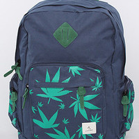 The Always Green Backpack in Navy