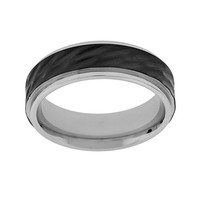 Stainless Steel Wedding Band - Men