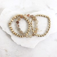 Coral Reef Stretch Bracelet Set