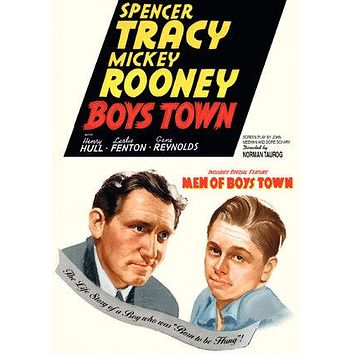 Boys Town Poster//Boys Town Movie Poster//Movie Poster//Poster Reprint