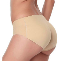 Sexy Padded Panties Seamless Bottom Panties Buttocks Push Up Lingerie Women's Underwear Butt Lift Briefs Hip Enhancer Shaper