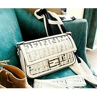 Fendi 2019 new high quality transparent simple shoulder bag Messenger bag