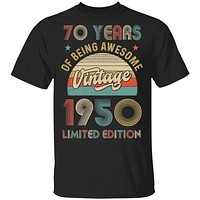 Vintage 1950 Limited Edition 70th Birthday Gift
