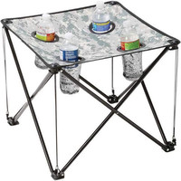 Maxam Digital Camo Small Camp Table