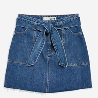 Denim Utility Skirt | Topshop