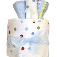 Trend Lab Hooded Towel Gift Cake, Dr. Seuss One Fish Two Fish $23.95