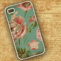 Cottage chic Iphone case Iphone 5 case  Iphone 4 by ToGildTheLily