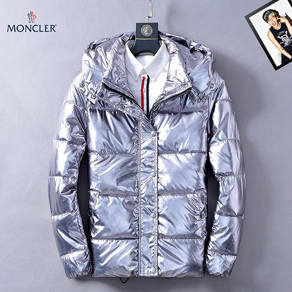 Image of Boys & Men Moncler Fashion Casual Quilted Cardigan Jacket Coat Hoodie