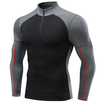 PEPEPEACOCK Men's Long Sleeve Compression Shirts for Men