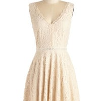 ModCloth Vintage Inspired Sleeveless A-line Chance to Enchant Dress