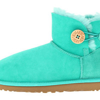 UGG Mini Bailey Button Jade Twinface - Zappos.com Free Shipping BOTH Ways