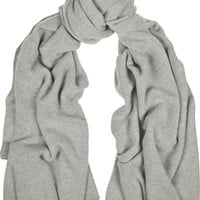 The Elder Statesman - Wool and cashmere-blend scarf
