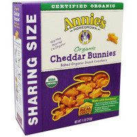 Organic Family Size Cheddar Bunnies - 11 oz each
