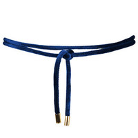 PU Belt - Blue