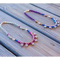 Miami Spice Colorful Necklaces