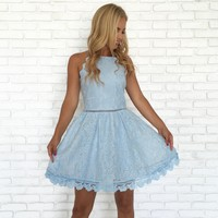 Cinderella Story Babydoll Lace Dress