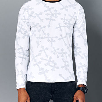 Opulent Cross Crew Neck
