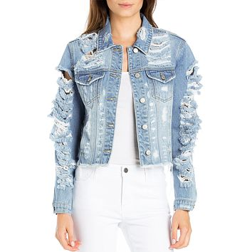 Hyper Shred Denim Jacket