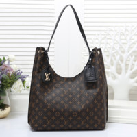 Louis Vuitton Women Fashion Leather Handbag Tote Shoulder Bag Satchel