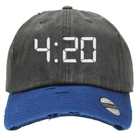 420 Distressed Baseball