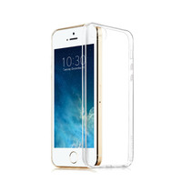 For i Phone 5 5S 6 6S Ultra Thin 0.3mm Transparent Clear Soft TPU Case Skin Cover With Screen Protector Gift For i Phone 6 Plus