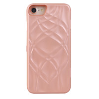 Rose Gold Mirror Wallet iPhone Case