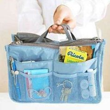 Bag In Bag - All Purpose Multi-Section Expandable Tote - 5 Colors to Choose!