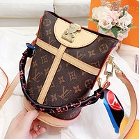 Louis Vuitton LV High Quality Women Leather Bucket Bag Handbag Shoulder Bag Crossbody Satchel