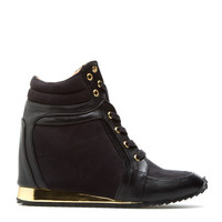 ShoeDazzle Charge High Top Sneakers