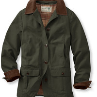 Adirondack Barn Coat, Flannel-Lined: Casual Jackets | Free Shipping at L.L.Bean