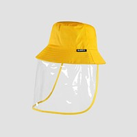 Yellow Protective Hat For Kids