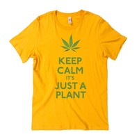 Keep Calm It's Just A Plant Graphic Tee