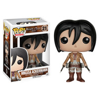 Attack on Titan - Mikasa Ackerman  - Pop! Vinyl Figure