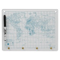World Traveler Dry Erase Board from Zazzle.com