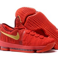 Nike Mens Kevin Durant 9 Chinese Red Basketball Shoe US7-12