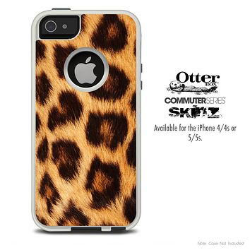 The Real Cheetah Print Skin For The iPhone 4-4s or 5-5s Otterbox Commuter Case