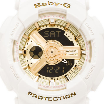 G-Shock x Baby-G Pair in White from REVOLVEclothing.com