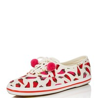kate spade new yorkx Keds Kick Pom-Pom Lace Up Sneakers