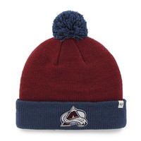 '47 Brand Colorado Avalanche Hopper Cuffed Knit Cap - Adult, Size: One Size (Red)